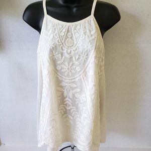 Rewind Crochet/Lace Top